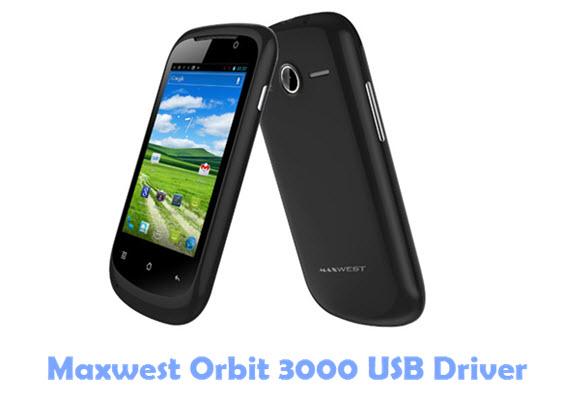 Download Maxwest Orbit 3000 USB Driver