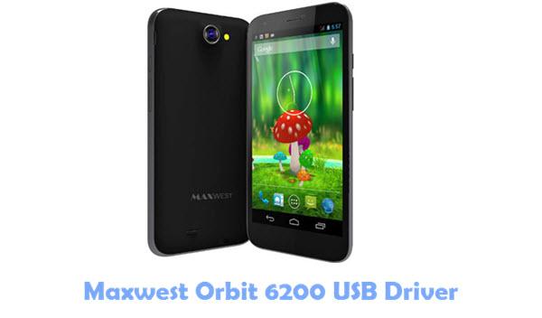 Download Maxwest Orbit 6200 USB Driver