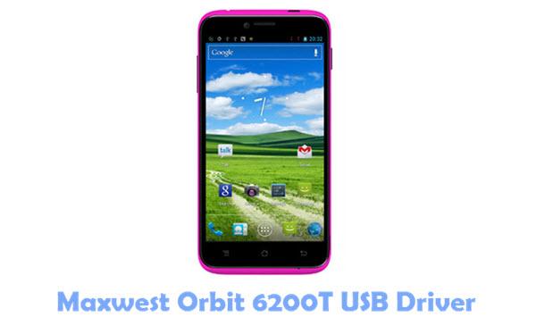 Download Maxwest Orbit 6200T USB Driver