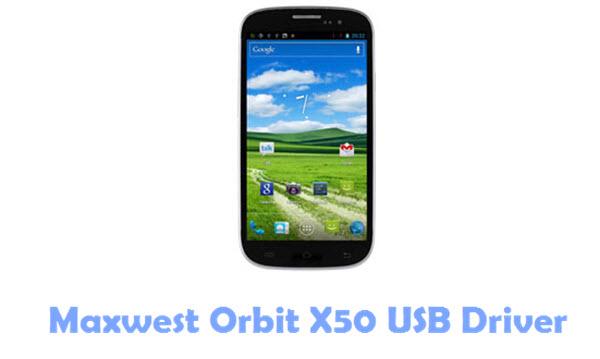 Download Maxwest Orbit X50 USB Driver