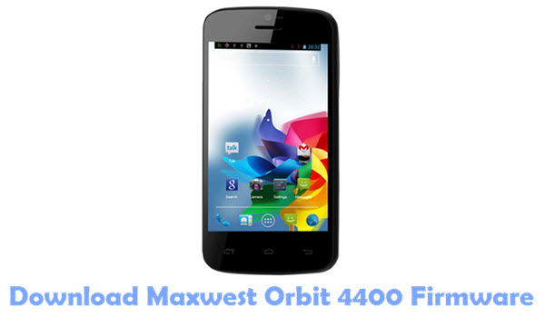 Download Maxwest Orbit4400 USB Driver