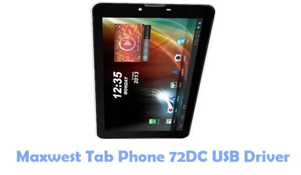 Download Maxwest Tab Phone 72DC USB Driver