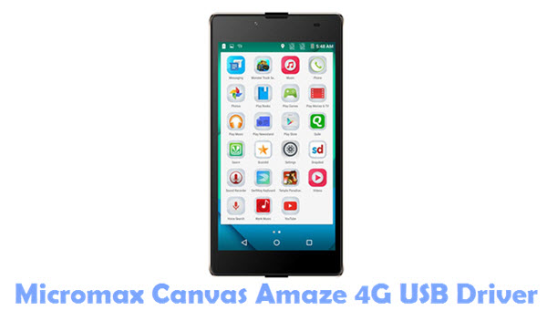 Download Micromax Canvas Amaze 4G USB Driver