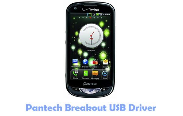 Pantech Breakout USB Drivers
