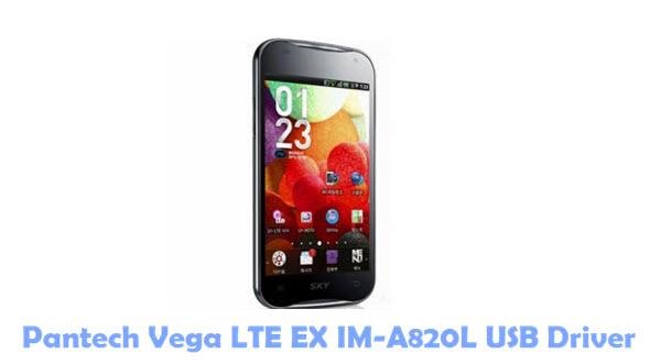 Download Pantech Vega LTE EX IM-A820L USB Driver