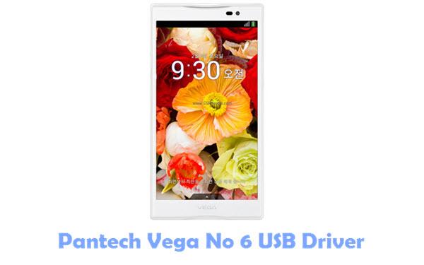 Pantech Vega No 6 USB Driver