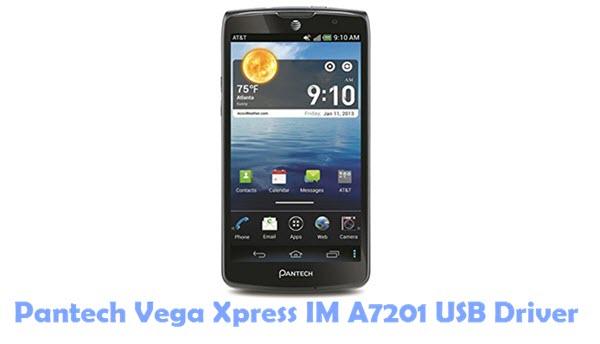 Download Pantech Vega Xpress IM A7201 USB Driver