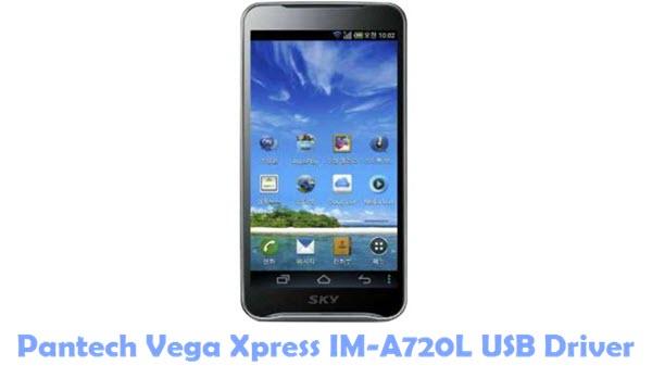 Download Pantech Vega Xpress IM-A720L USB Driver