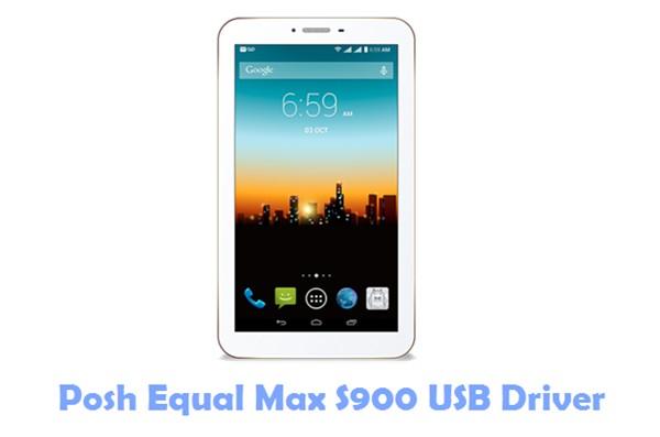 Posh Equal Max S900 USB Driver