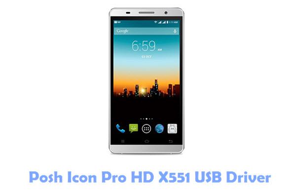 Posh Icon Pro HD X551 USB Driver