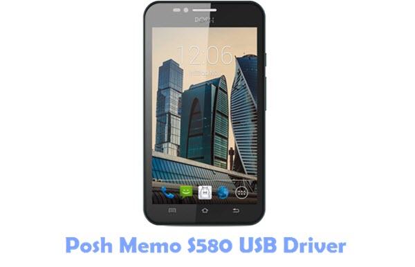Posh Memo S580 USB Driver