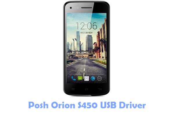 Download Posh Orion S450 USB Driver