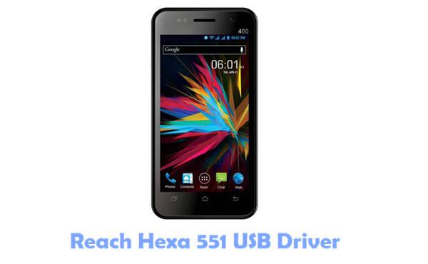 Reach Hexa 551 USB Driver