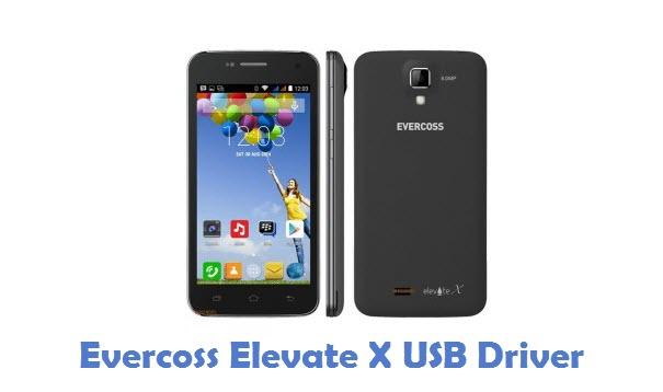 Evercoss Elevate X USB Driver