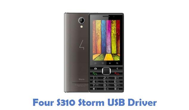 Four S310 Storm USB Driver