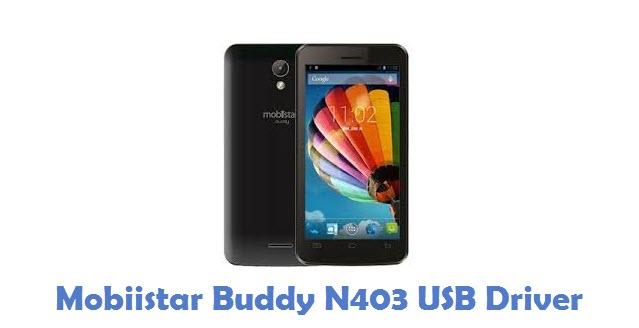 Mobiistar Buddy N403 USB Driver