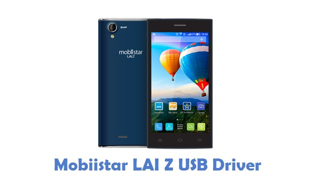 Mobiistar LAI Z USB Driver