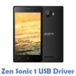 Zen Sonic 1 USB Driver