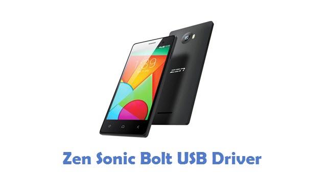Zen Sonic Bolt USB Driver
