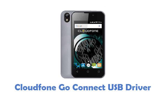Cloudfone Go Connect USB Driver