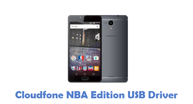 Cloudfone NBA Edition USB Driver