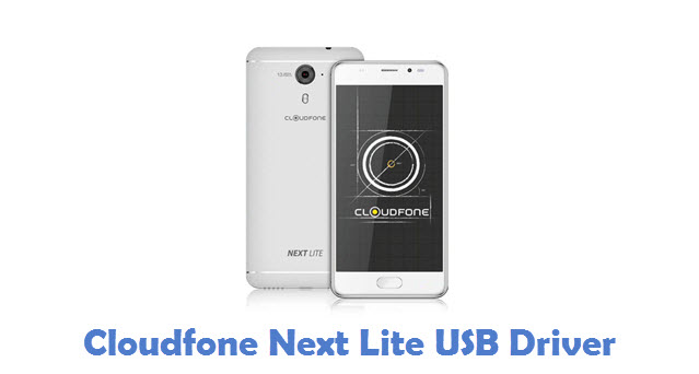 Cloudfone Next Lite USB Driver