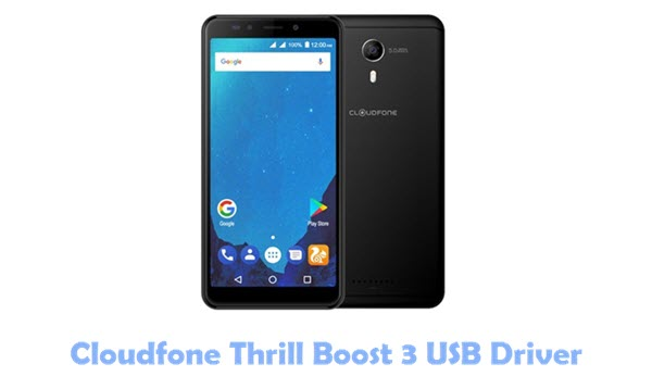 Download Cloudfone Thrill Boost 3 USB Driver