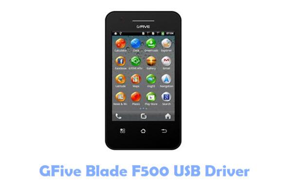 GFive Blade F500 USB Driver