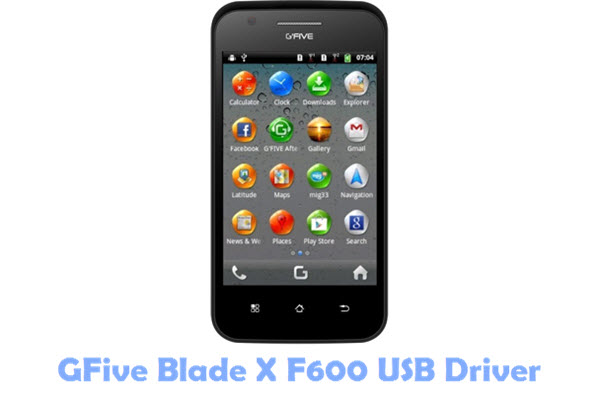 GFive Blade X F600 USB Driver