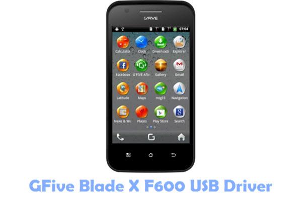 Download GFive Blade X F600 USB Driver