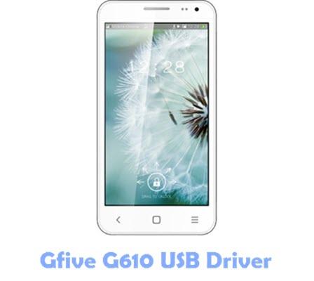 Download Gfive G610 USB Driver