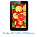 Download Haier G700F USB Driver