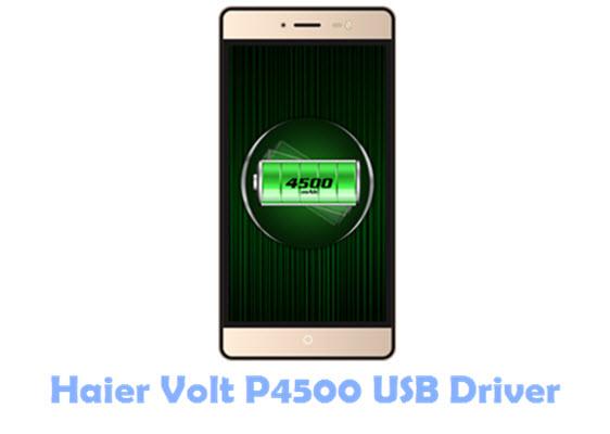 Haier Volt P4500 USB Driver