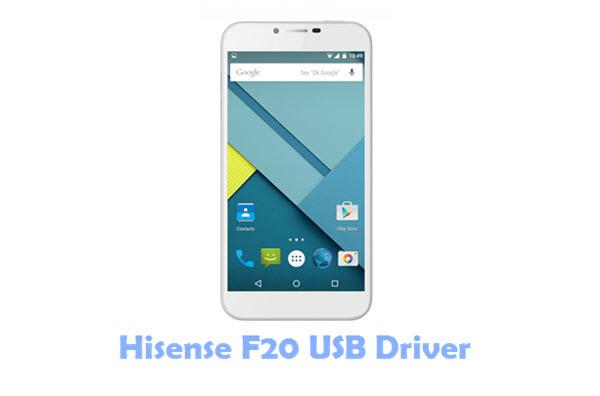 Hisense F20 USB Driver