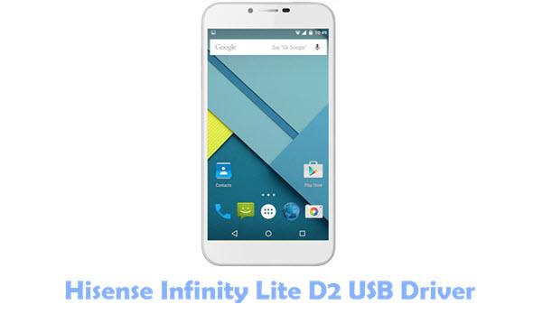 Hisense Infinity Lite D2 USB Driver
