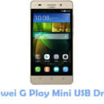 Huawei G Play Mini USB Driver