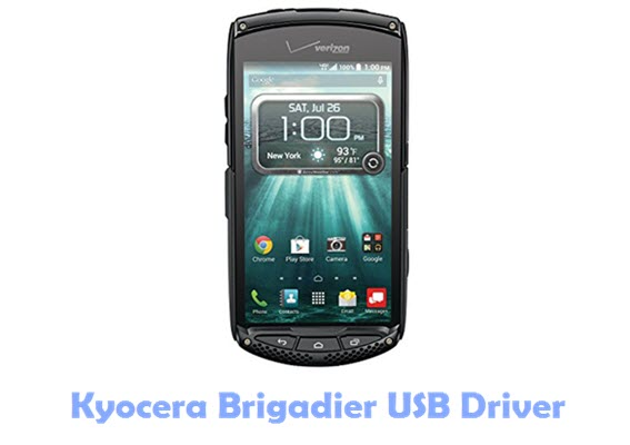 Download Kyocera Brigadier USB Driver