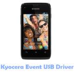 Download Kyocera Event USB Driver