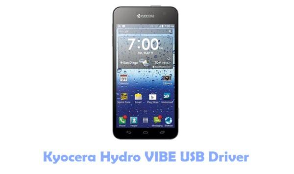 Download Kyocera Hydro VIBE USB Driver