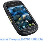 Download Kyocera Torque E6710 USB Driver