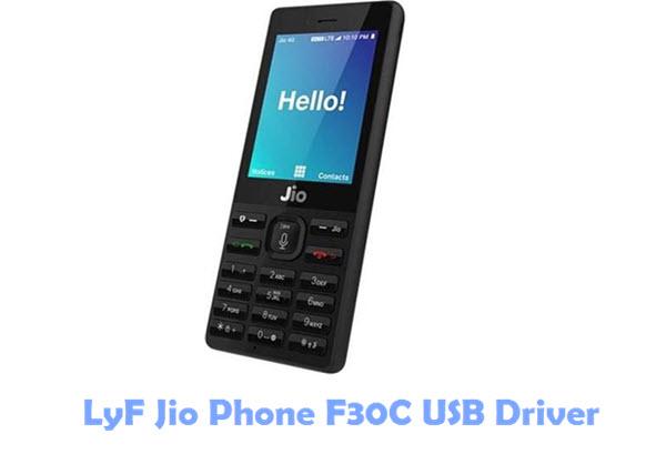 Download LyF Jio Phone F30C USB Driver
