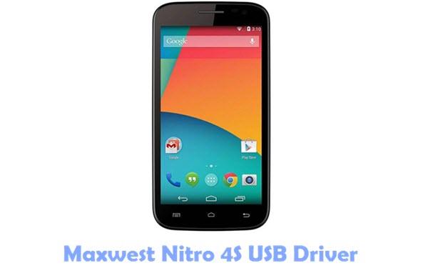 Maxwest Nitro 4S USB Driver
