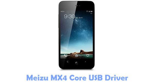 Meizu MX4 Core USB Driver