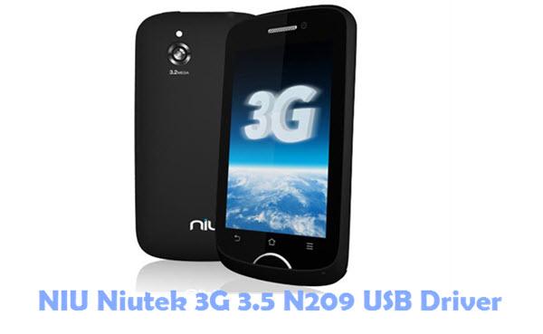 Download NIU Niutek 3G 3.5 N209 USB Driver