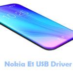 Nokia E1 USB Driver