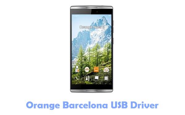 Orange Barcelona USB Driver