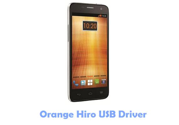 Orange Hiro USB Driver