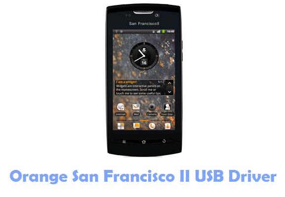 Orange San Francisco II USB Driver