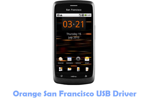 Orange San Francisco USB Driver