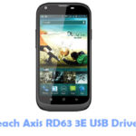 Reach Axis RD63 3E USB Driver